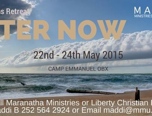 Men's Retreat 2015 – Register on arrival, if you haven't already!